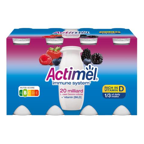 Jogurtijook metsamarja Actimel 8x100g