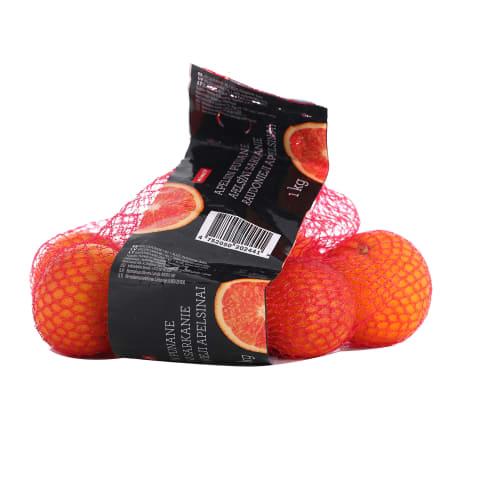 Apelsīni Rimi Moro sarkanie 1. šķira 1kg