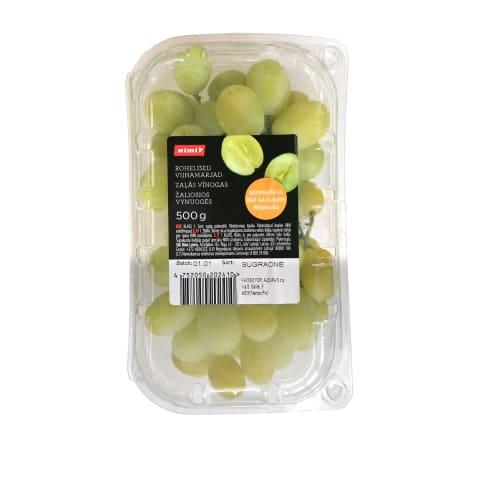 Žaliosios besėklės vynuogės RIMI, 500 g