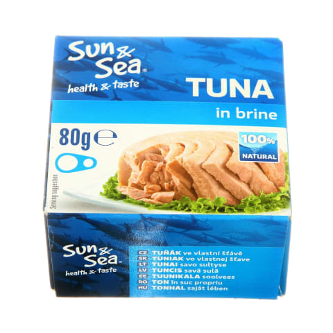 Tunas savo sultyse SUN & SEA, 80 g