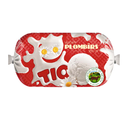 Saldējums Tio plombīrs 500ml/240g