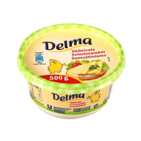 Margarinas sumuštiniams DELMA, 20 %, 500 g