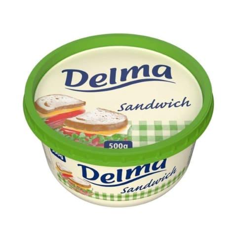 Augu tauku pasta sviestmaizēm Delma 500g
