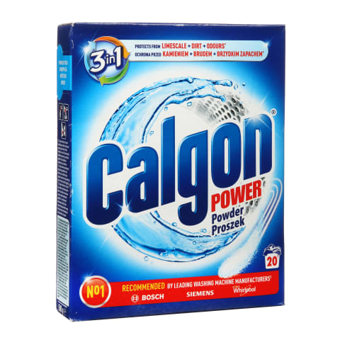 Vandens minkštiklis CALGON, 20 skalb., 500g