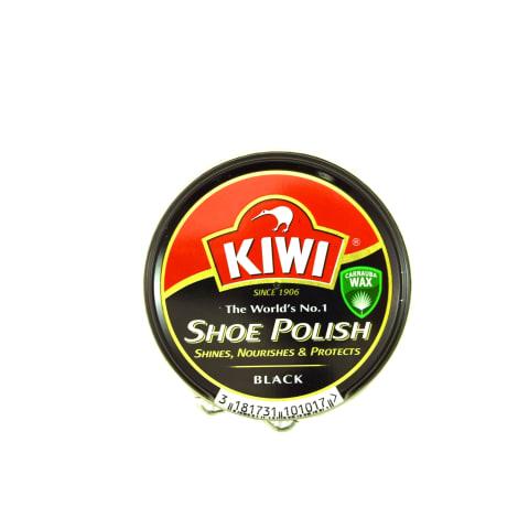 Juodas batų tepalas KIWI TIN, 50ml