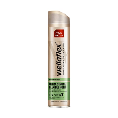 Plaukų lakas WELLAFLEX ULTRA STRONG, 250ml