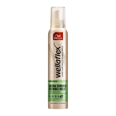 Plaukų putos WELLAFLEX ULTRA STRONG, 200 ml