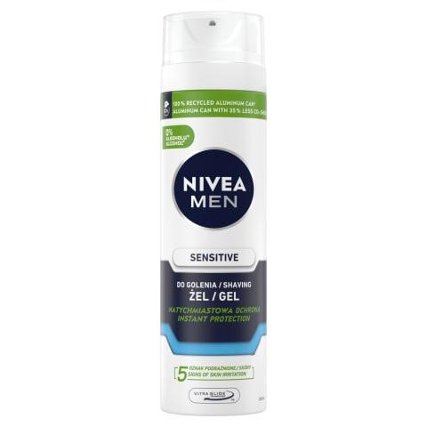 Habemeajamisgeel Nivea sensitive 200 ml