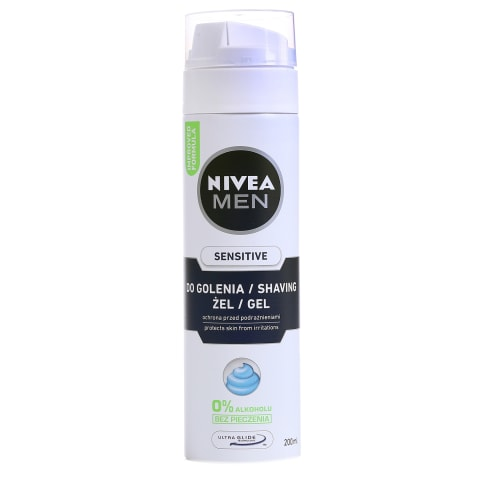 Skutimosi želė NIVEA MEN SENSITIVE, 200 ml