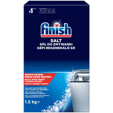Indaplovių druska FINISH SALT, 1,5 kg