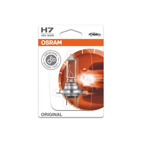 Automobilio lemputė H7 55W 12V, 1 vnt.