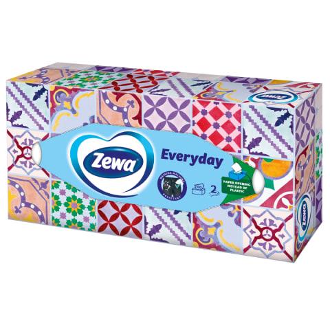 Kosmeetilised salvrätid Zewa 2k. 100 tk