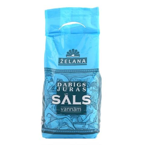 Dabīgs jūras sāls vannām Želan 1kg