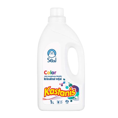 Šķidrais veļas mazg. līdz. Kastanis Color 1l