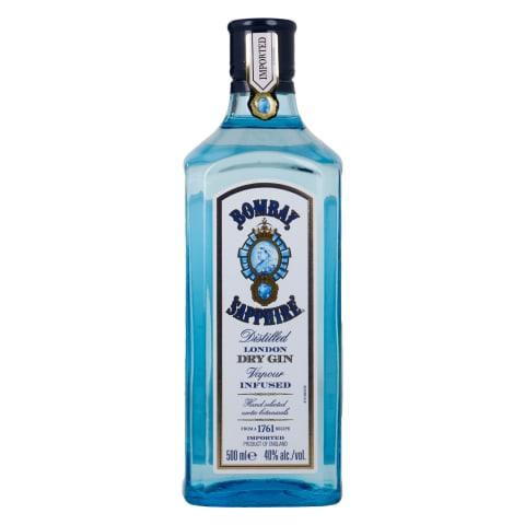 Gin Bombay Sapphire Dry Gin 40%vol 0,5l