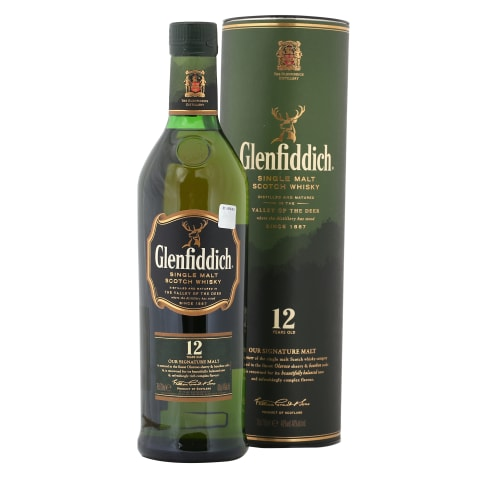 Viskijs Glenfiddich 12YO 40% 0,7l