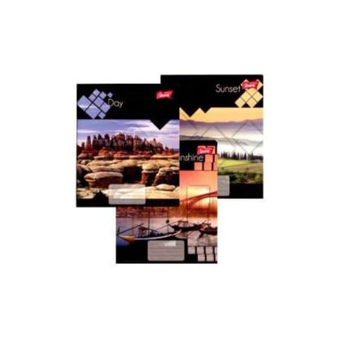 Sąsiuvinis langeliais UNIPAP A5, 48 lapų