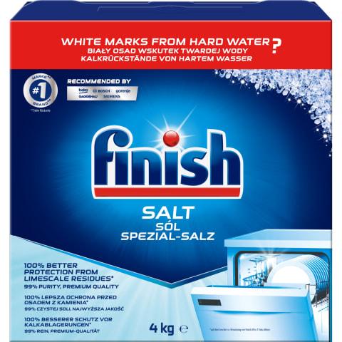 Indaplovių druska FINISH SALT, 4 kg