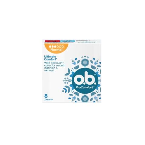 Higien. tamponai O.B.PROCOMFORT NORMAL, 8vnt.