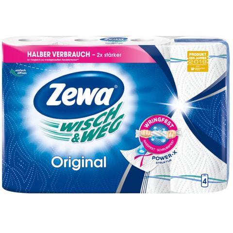 Pop.rankšluosč.ZEWA W&W ORIGINAL,2sl.,4rit.