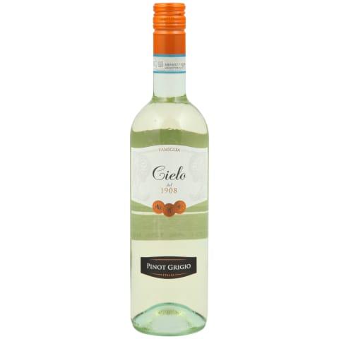 Balt.sausas vyn.CIELO PINOT GRIGIO DOC, 0,75l