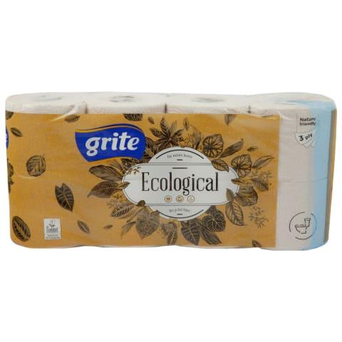 Tual. popierius GRITE ECOLOGICAL, 3sl., 8rit.