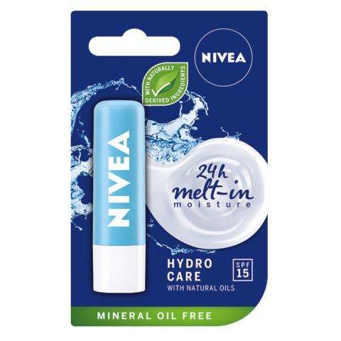 Lūpų balzamas NIVEA HYDRO CARE, 4,8g