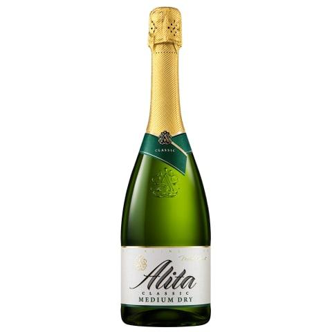 Putojantis pusiau sausas vynas ALITA, 0,75l