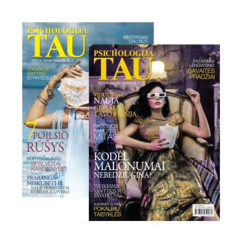 Žurnalas PSICHOLOGIJA TAU