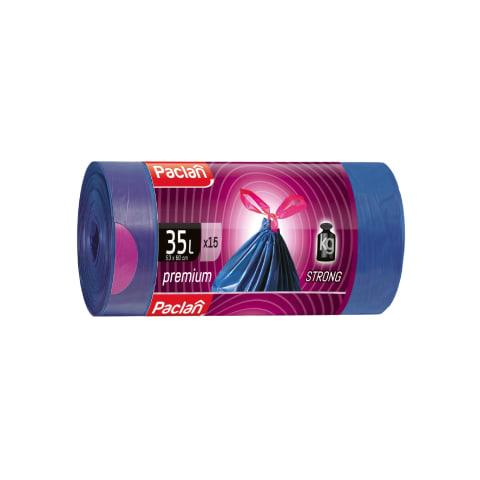 Šiukšlių maišai PACLAN Premium 35l,15vnt