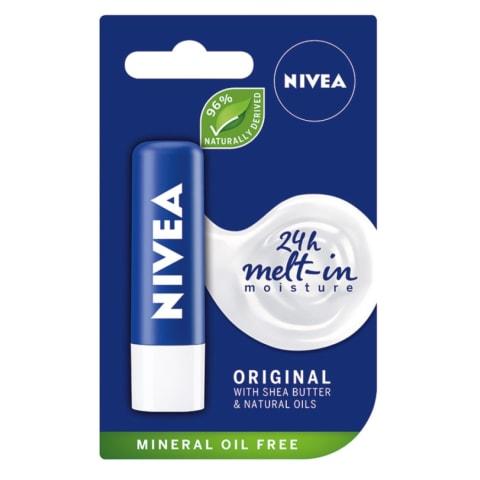 Hügeeline huulepulk Nivea Essential 4,8g