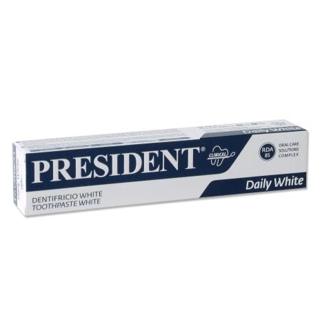 Dantų pasta PRESIDENT WHITE,75ml