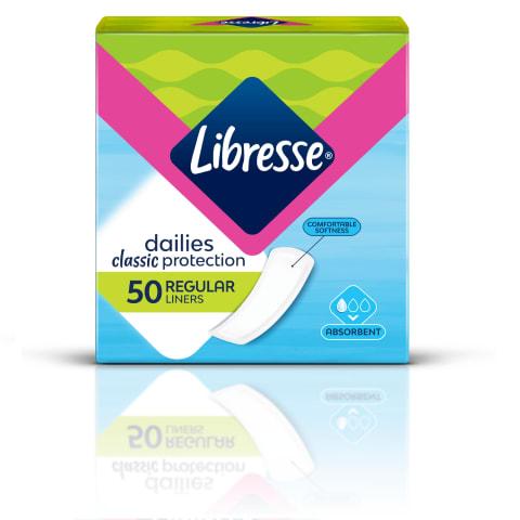 Higieniai įklotai LIBRESSE CLASSIC, 50vnt.