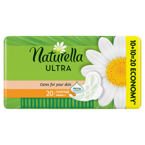 Hig. pak. Naturella ultra duo normal+ 20gab.