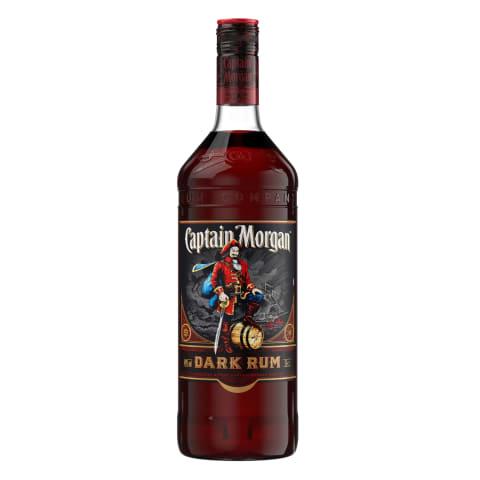 Rumm Captain Morgan Dark Rum 40% 0,7l