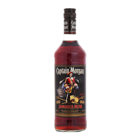 Romas CAPTAIN MORGAN Black Label, 40 %, 0,7 l