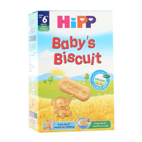 Ekol. kūdikių sausainiai HIPP, 6 mėn., 150g