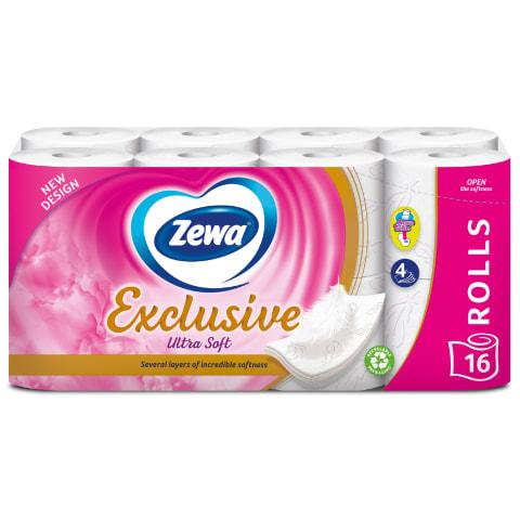 Tualetes papīrs Zewa Ultra Soft 4s.,16ruļļi