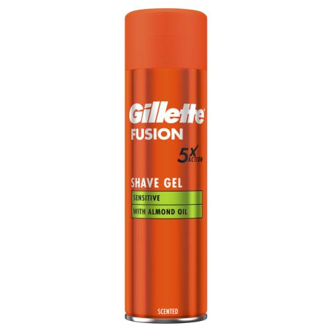 Skūšan. žel. Gillette Fusion5 Sensitive 200ml