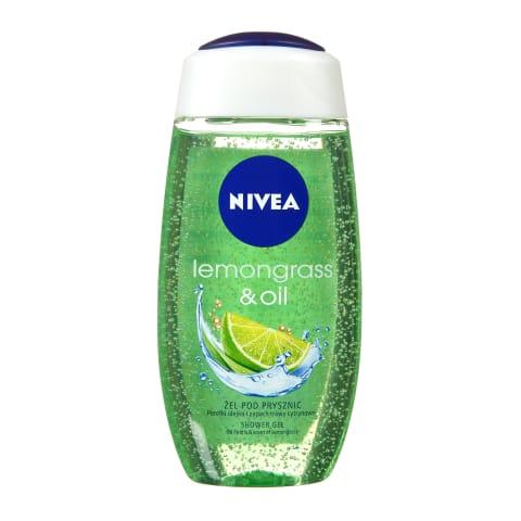 Dušas želeja Nivea lemongrass&oil 250ml