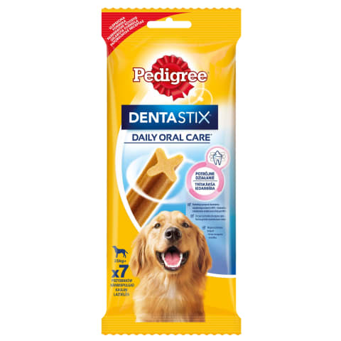 Šunų kramt., PEDIGREE DENTASTIX, 7vnt., 270g