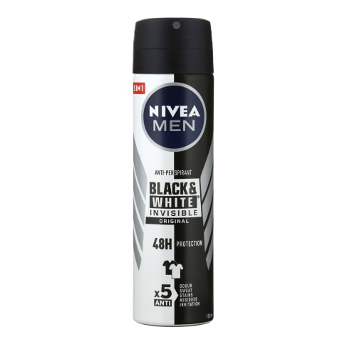 Puršk.dezod.vyr.NIVEA BLACK&WHITE POWER,150ml