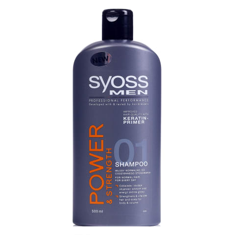 Šampūns Syoss men power 500ml