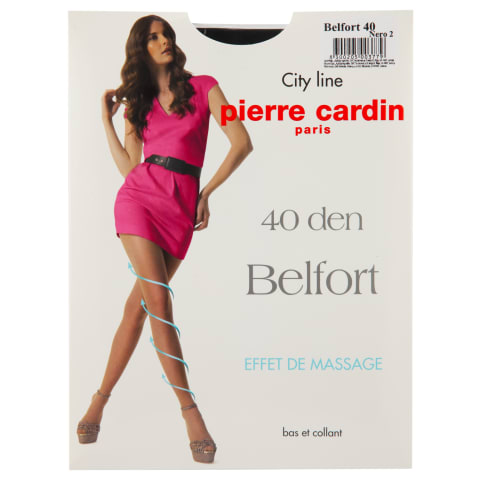 Moterų pėdkelnės PC Belfort 40d nero 2