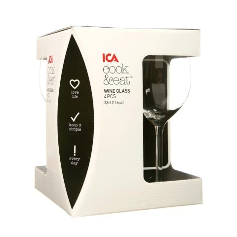 Veiniklaasid ICA Cook&Eat 4 tk