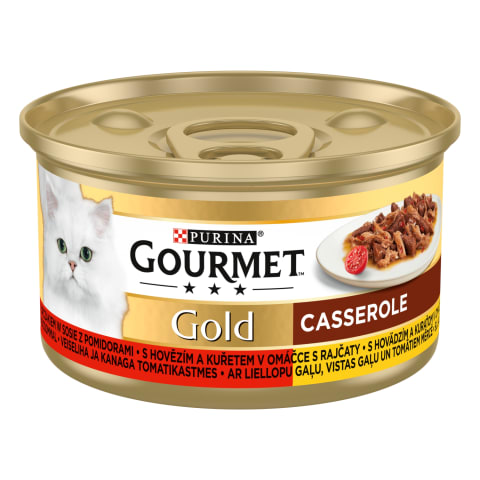 Kassieine Gourmet Gold lõhe/kana 85g