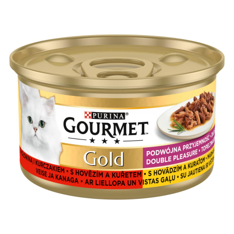 Kiisueine Gourmet gold Duo 85 g