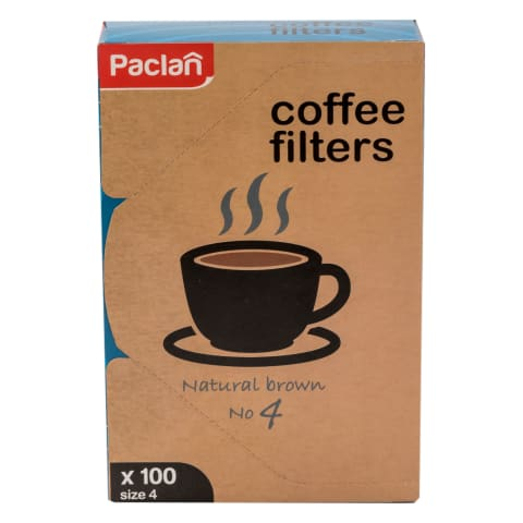 Kavos filtrai PACLAN, 100 vnt.