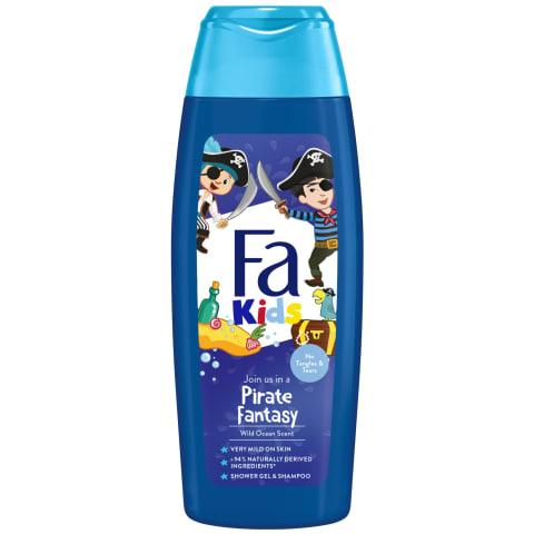 Dušas želeja šampūns Fa pirate bērniem 250ml