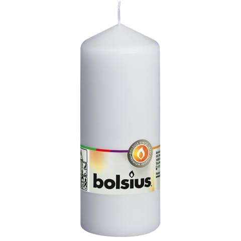 Balta cilindrinė žvakė BOLSIUS, 150 X 60mm